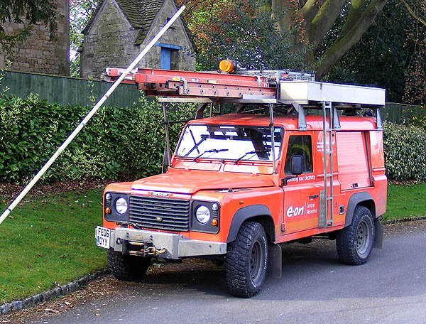 Electricity Board Land Rovers
